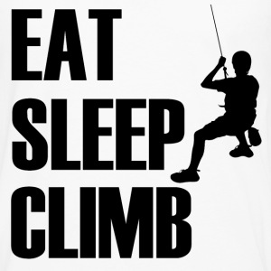 EA SLEEP CLIMB1.png T-Shirts - Men's Premium Long Sleeve T-Shirt