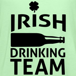 irish drinking team T-Shirts - Women's Flowy Tank Top by Bella
