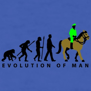 evolution_cop_on_horse_09_201601_3c Mugs & Drinkware - Men's T-Shirt