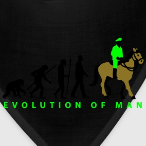 evolution_cop_on_horse_09_201602_3c T-Shirts - Bandana