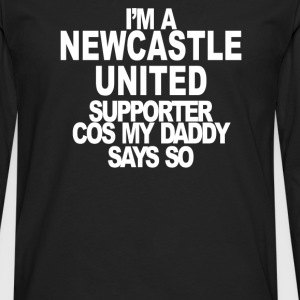 Newcastle United Supporter - Men's Premium Long Sleeve T-Shirt