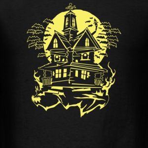 Haunted House - Men's T-Shirt