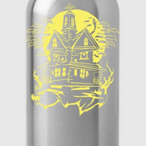Haunted House - Water Bottle