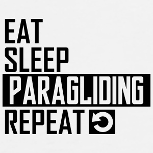 eat sleep paragliding Sportswear - Men's Premium T-Shirt