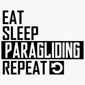 eat sleep paragliding Sportswear - Men's Premium Long Sleeve T-Shirt