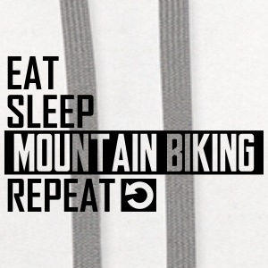eat sleep mountain biking Sportswear - Contrast Hoodie