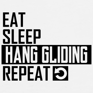 eat sleep hang gliding Sportswear - Men's Premium T-Shirt