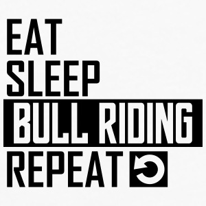 eat sleep bull riding Sportswear - Men's Premium Long Sleeve T-Shirt