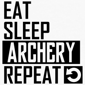 eat sleep archery Sportswear - Men's Premium Long Sleeve T-Shirt