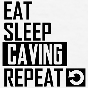 eat sleep caving Sportswear - Men's T-Shirt