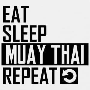 eat sleep muay thai Sportswear - Men's Premium Tank