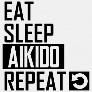 eat sleep aikido Sportswear - Men's Premium Tank