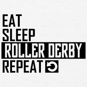 eat sleep roller derby Sportswear - Men's T-Shirt