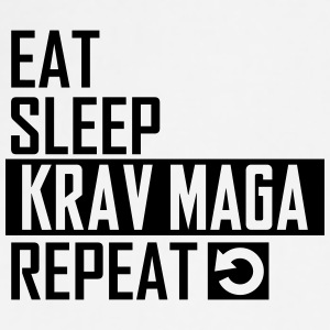 eat sleep krav maga Sportswear - Adjustable Apron