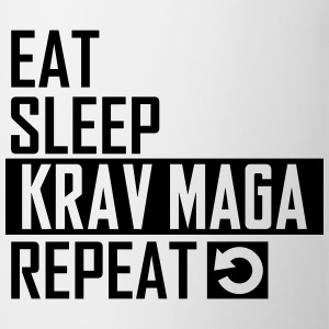 eat sleep krav maga Sportswear - Coffee/Tea Mug