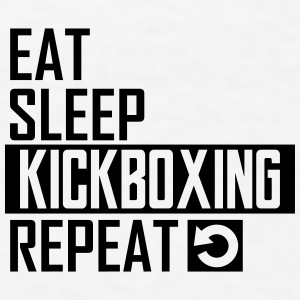 eat sleep kickboxing Sportswear - Men's T-Shirt