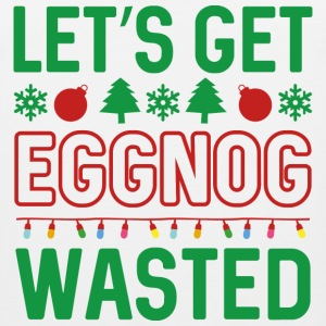 Eggnog Wasted - Men's Premium Tank