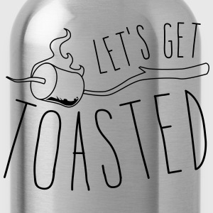 Let's get toasted T-Shirts - Water Bottle
