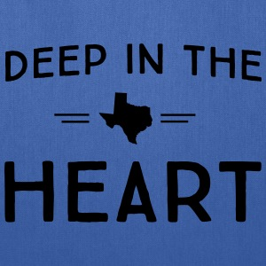 Texas. Deep in the Heart T-Shirts - Tote Bag