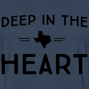 Texas. Deep in the Heart T-Shirts - Men's Premium Long Sleeve T-Shirt