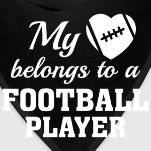 Heart Belongs Football - Bandana