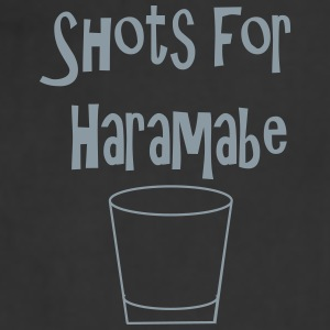 Shots for Harambe - Adjustable Apron
