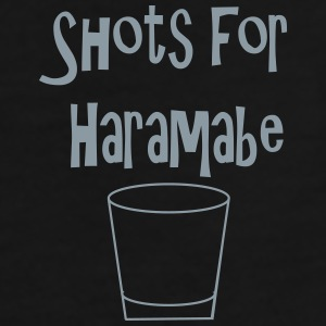 Shots for Harambe - Men's Premium T-Shirt