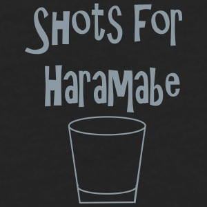 Shots for Harambe - Men's Premium Long Sleeve T-Shirt