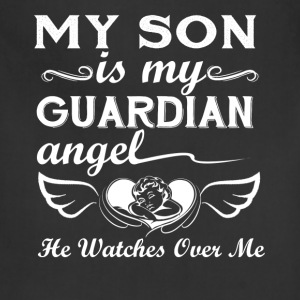 My Son Is Guardian Angel - Adjustable Apron