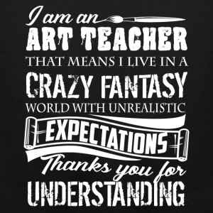 Art Teacher Shirts - Men's Premium Tank
