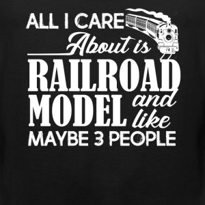Railroad Model Shirts - Men's Premium Tank