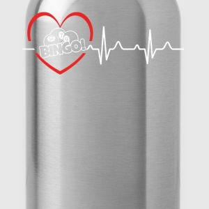 Bingo Heartbeat Shirt - Water Bottle