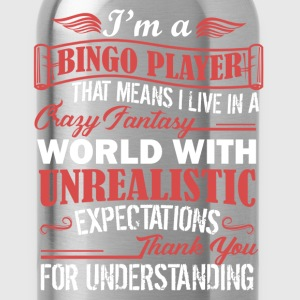 Bingo Player Shirt - Water Bottle
