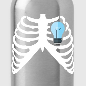 ELECTRICIAN - MY HEART BEATS FOR ELECTRICITY! Sweatshirts - Water Bottle
