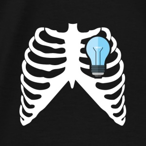ELECTRICIAN - MY HEART BEATS FOR ELECTRICITY! Aprons - Men's Premium T-Shirt