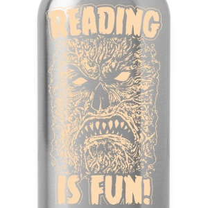 Reading Is Fun Necronomicon - Water Bottle