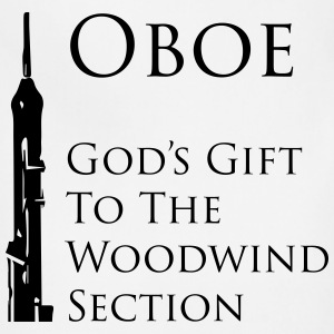 Oboe, God's gift to the woodwind section - Adjustable Apron