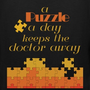 A puzzle a day keeps doctor away - Men's Premium Tank