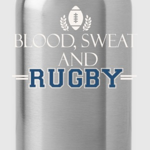 Blood sweat and rugby - Water Bottle