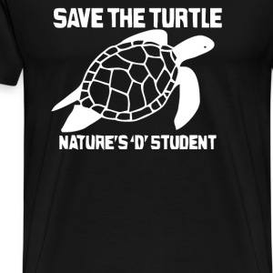 Save The Turtle - Men's Premium T-Shirt