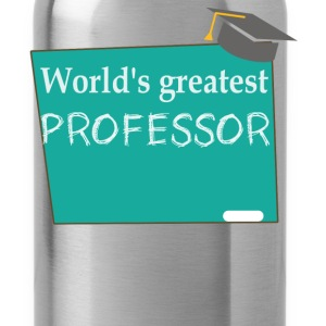 World's greatest Professor - Water Bottle