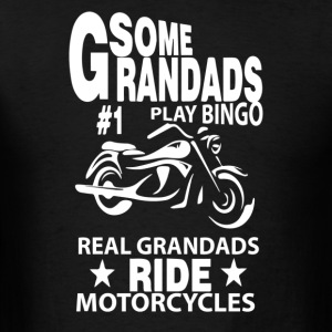 Some Grandads Or Dads Play Bingo - Men's T-Shirt