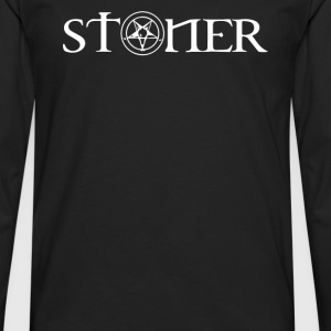 Stoner Quotes - Men's Premium Long Sleeve T-Shirt