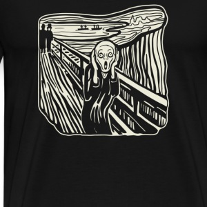 The Scream - Men's Premium T-Shirt