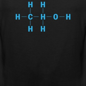 Amazing Alcohol Molecule - Men's Premium Tank