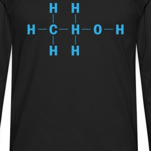 Amazing Alcohol Molecule - Men's Premium Long Sleeve T-Shirt