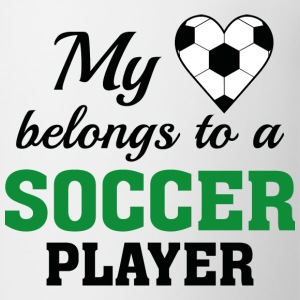 Heart Belongs Soccer - Coffee/Tea Mug