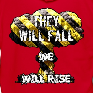 They Will Fall T-Shirts - Unisex Fleece Zip Hoodie by American Apparel