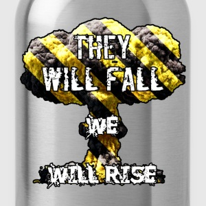 They Will Fall T-Shirts - Water Bottle