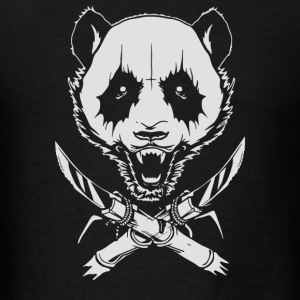 Black Metal Panda - Men's T-Shirt